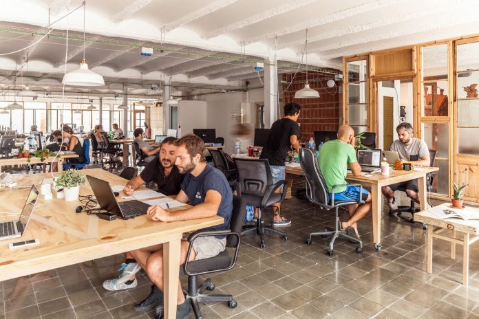Coworking Space at Causeway Bay in Hong Kong